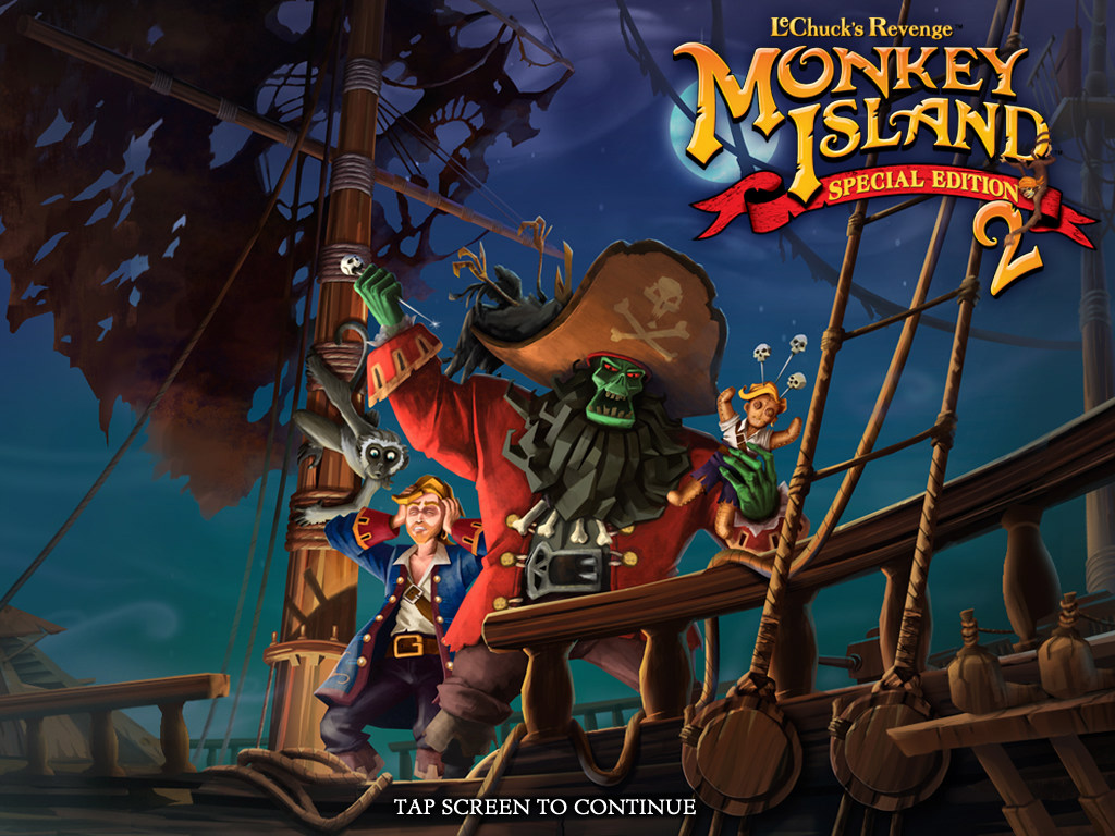 Monkey Island Ps Review