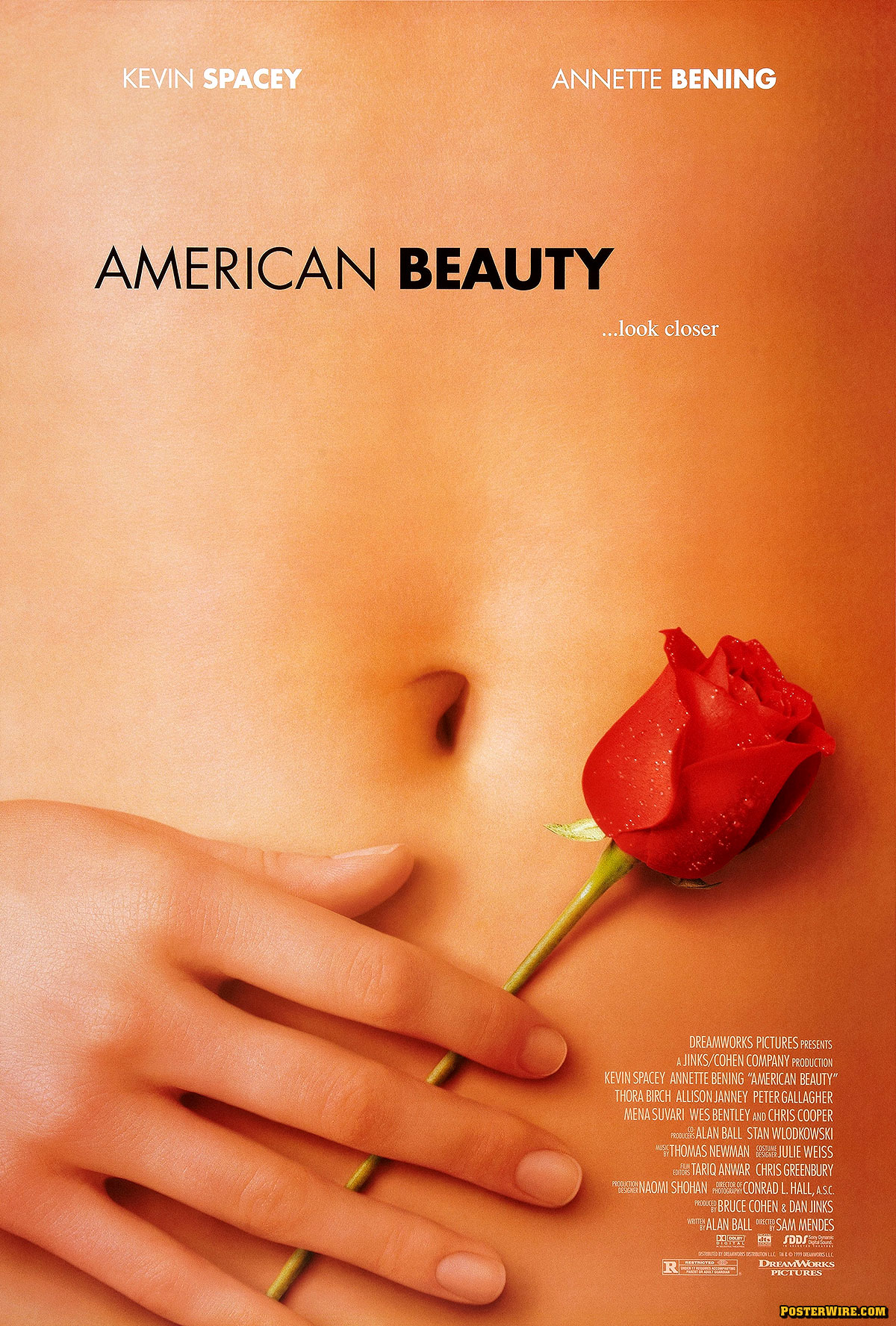 a scene analysis of american beauty a film by sam mendes Welcome to america's weirdest home videos-an apt line from american beauty-director sam mendes and  arriving on the scene,  for analysis, these articles seek.
